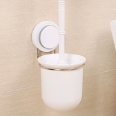 衛生間馬桶刷套裝免打孔廁所刷帶底座軟毛 居享優品