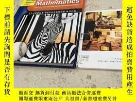 二手書博民逛書店英文原版罕見everyday Mathematics - student reference book /3年級
