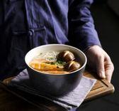 泡麵碗 家用沙拉碗個性創意陶瓷碗米飯碗湯碗吃面碗飯碗 QG1771『優童屋』