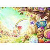 ~P2 拼圖~名家創作系列Iris 色鉛筆創作閱讀森林彩虹樹屋520 片拼圖