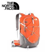 【The North Face 28L 輕量專業登山背包 木瓜橘/鐵銀】A2UB/登山背包/後背包/專業背包
