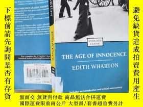 二手書博民逛書店The罕見Age of Innocence(伊迪絲·華頓《純真