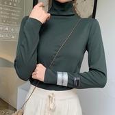 長袖針織衫秋冬新款寬鬆長袖套頭毛針織衫女外穿慵懶風打底衫修身上衣【低至82折】