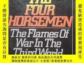 二手書博民逛書店the罕見four horsemen the flames of