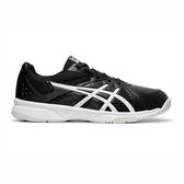 Asics Court Slide [1041A037-002] 男鞋 網球 運動 輕量 緩震 舒適 包覆 亞瑟士 黑白