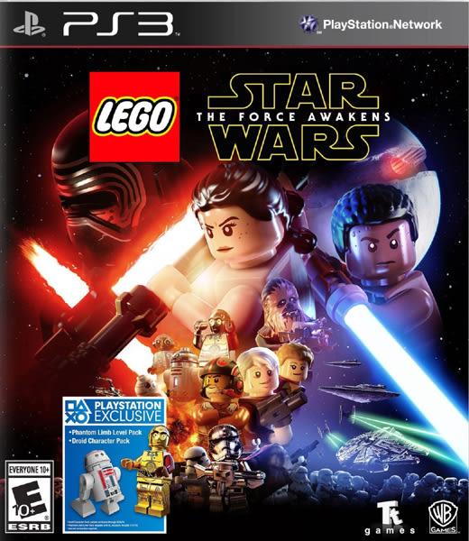 PS3 LEGO Star Wars: The Force Awakens 樂高星際大戰:原力覺醒(美版代購)