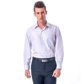 【金‧安德森】白底黑細線吸排窄版長袖襯衫