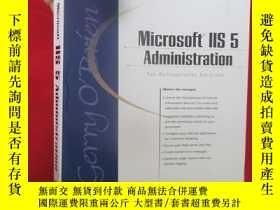 二手書博民逛書店Microsoft罕見IIS 5 Administration