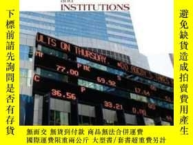 二手書博民逛書店Financial罕見Markets And Institutions (with Stock Trak Coup