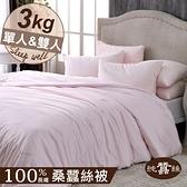 【岱妮蠶絲】BY30991天然特級100%長纖桑蠶絲被-3kg