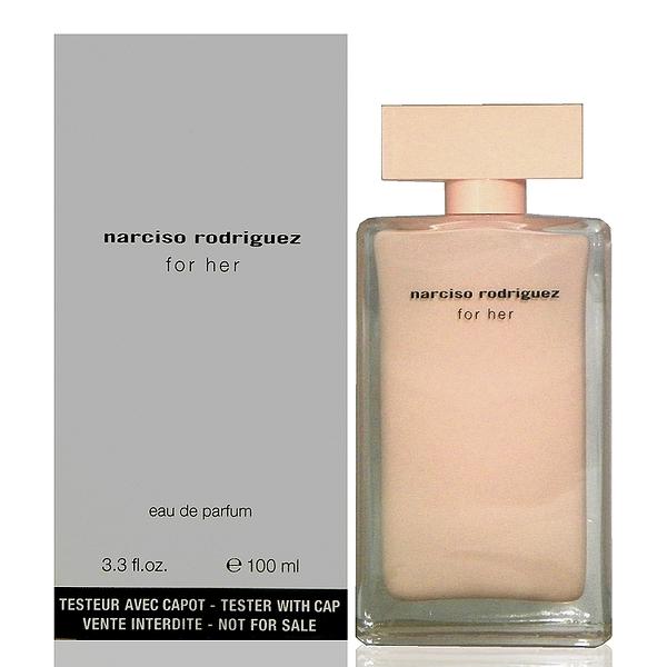 Narciso Rodriguez 同名經典女香淡香精 100ml Tester 包裝