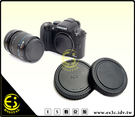 ES數位館 Samsung NX5 NX10 NX11 NX100 NX200 NX 系列 相機專用 機身鏡頭前後蓋組 機身蓋 鏡頭後蓋