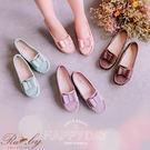 鞋子 MIT台灣製雙層蝴蝶結平底娃娃鞋-Ruby s 露比午茶