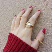 個性指環時尚食指關節尾戒潮戒指三件套PLL4250【男人與流行】