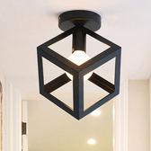 時尚簡約造型四角吸頂燈 適合餐廳、商旅等 1415