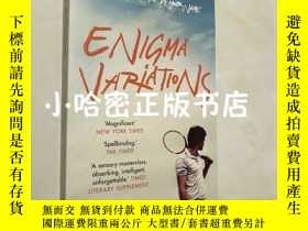 二手書博民逛書店enigma罕見variations 春日序曲英文版 call me by your name作者作品 andre