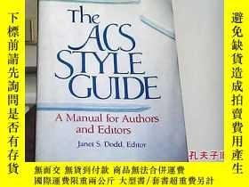 二手書博民逛書店The罕見ACS style guide : a manual