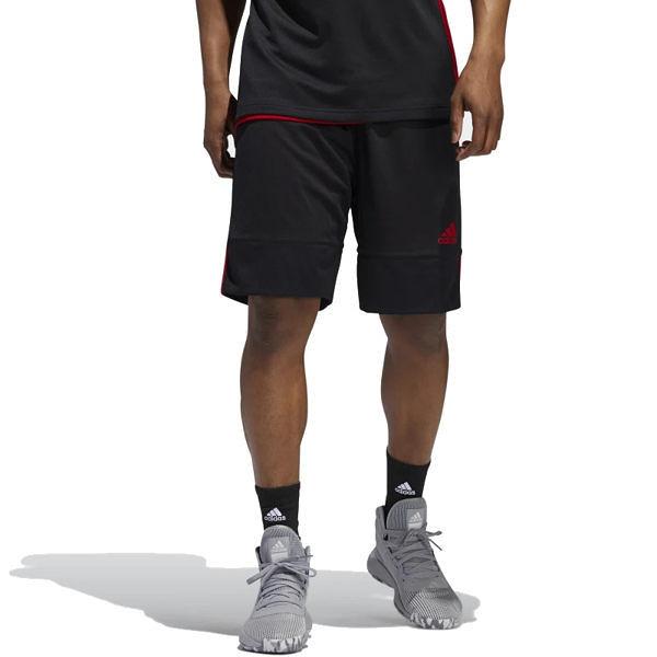 Adidas 3G Speed 男 黑紅 白 短褲 籃球褲 雙面穿 籃球褲 球褲 透氣 短褲 刺繡 運動褲 DY6596