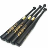 磨砂黑棒球棒棍車載合金鋼加厚鋼棒球桿鐵棍防衛棍武器棒球棒 青山小鋪