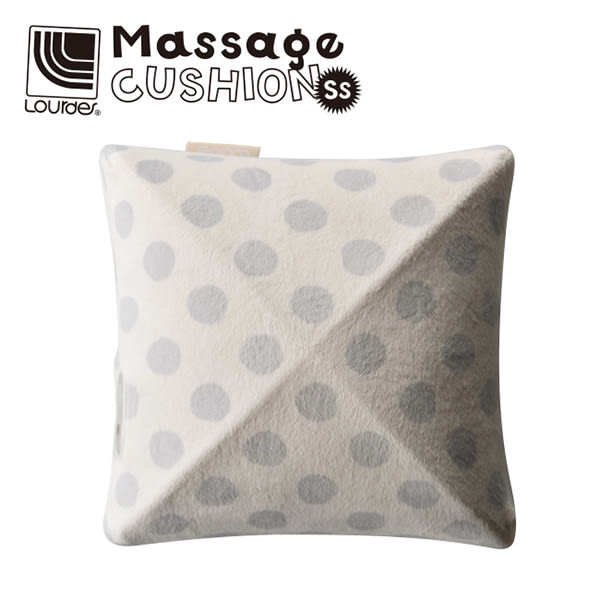 Lourdes日式小型揉捏按摩抱枕(灰色)108dgr