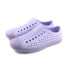 native JEFFERSON 休閒鞋 洞洞鞋 淺紫色 男女鞋 11100100-8848 no958