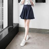 OB嚴選《BA2399-》垂墜澎感荷葉下襬牛仔褲裙--適 S~XL