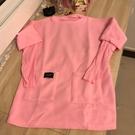 基本款修身純色長袖T恤長版上衣(M-XL...