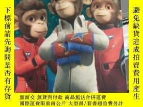 二手書博民逛書店Space罕見Chimps: Blast Off!Y15389