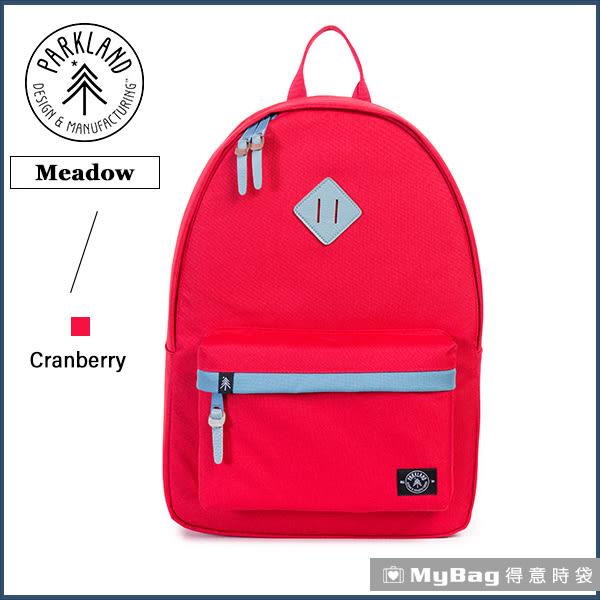 Parkland 後背包 蔓越莓 電腦後背包 多功能休閒背包 Meadow-051 MyBag得意時袋