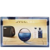 BVLGARI 寶格麗 勁藍水能量香氛禮盒(淡香水100ml+鬍後乳75ml+沐浴膠75ml)【娜娜香水美妝】01213