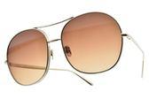 Chloe 太陽眼鏡 CE128S 743 (金-漸層棕鏡片) 歐美金屬俏皮飛行款 墨鏡 # 金橘眼鏡