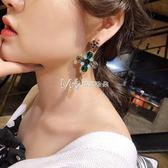 耳環  復古 氣質韓國個性簡約百搭網紅耳墜耳環少女耳飾長款  瑪奇哈朵