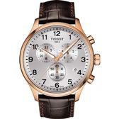 【僾瑪精品】TISSOT天梭 韻馳系列 CHRONO XL 帥氣三眼計時運動錶 T1166173603700