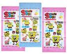 【卡漫城】 海綿寶寶 小毛巾 3條一組 最後一組㊣版 SpongeBob 派大星 童巾 純棉 台灣製 毛巾