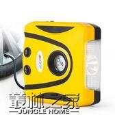 車載充氣泵12V汽車車用電動輪胎便攜式打氣筒測胎壓大功率打氣泵【叢林之家】