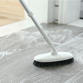地板刷長柄硬毛地刷瓷磚清潔刷廚房地刷廁所衛生間刷地刷子浴室刷【米拉生活館】