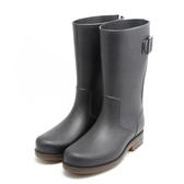 春夏新款水鞋中筒水靴防水雨靴廚房套鞋防滑膠鞋成人戶外雨鞋男