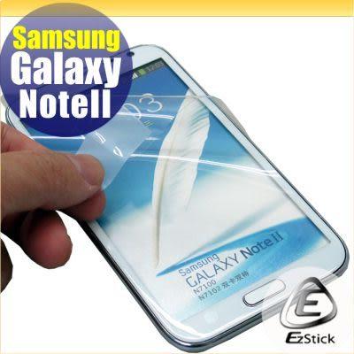 【EZstick】SAMSUNG Galaxy NOTE 2 NOTE II N7100 N7102 專用 - 靜電式手機LCD液晶螢幕貼
