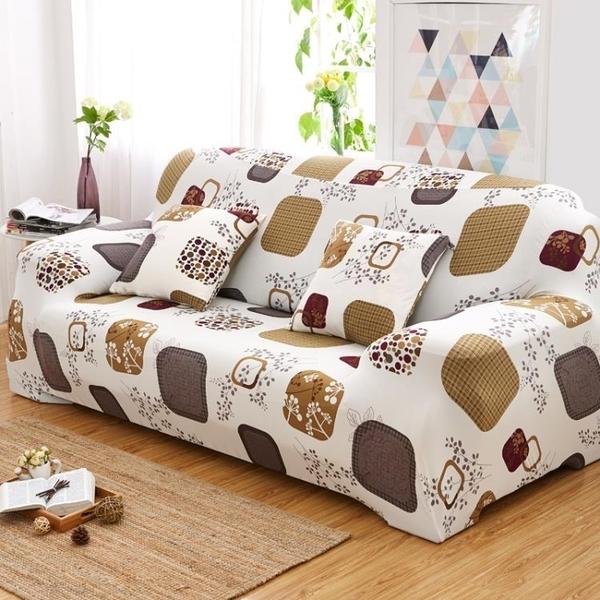 萬能彈力沙發套全包沙發罩全蓋緊包防滑老式皮沙發墊單人三人組合 年底清倉8折