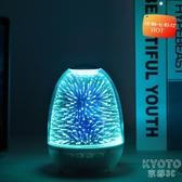 創意小夜燈圣誕節禮物2020亞馬遜爆款七彩燈光藍牙便攜小音箱LED 京都3C