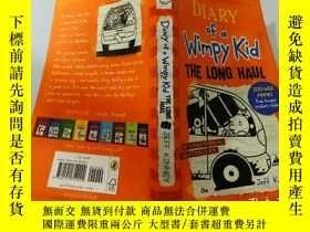 二手書博民逛書店Diary罕見of a Wimpy Kid:The Long Haul:一個懦弱的孩子的日記:長途旅行Y200
