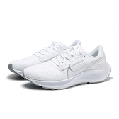NIKE 休閒鞋 ZOOM PEGASUS 38 小飛馬 白 銀 慢跑鞋 訓練 女 (布魯克林) CW7358-100
