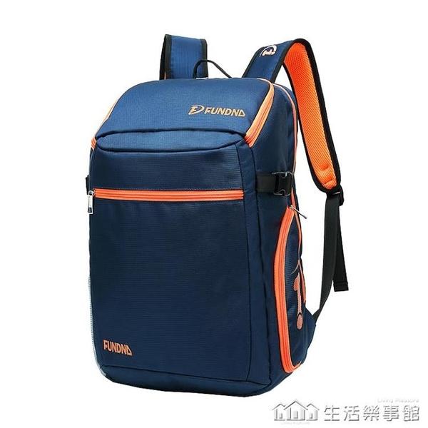 新款羽毛球包單雙肩男女款背包3支裝韓版設計雙肩拍包 NMS樂事館新品