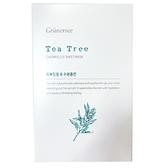【 韓國Grunersee格樂喜】茶樹保濕面膜 (25mlx10片/盒) 韓國正品 保濕補水 化妝水 面膜 94shop