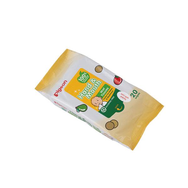 貝親 手口濕巾20抽  濕紙巾 濕巾
