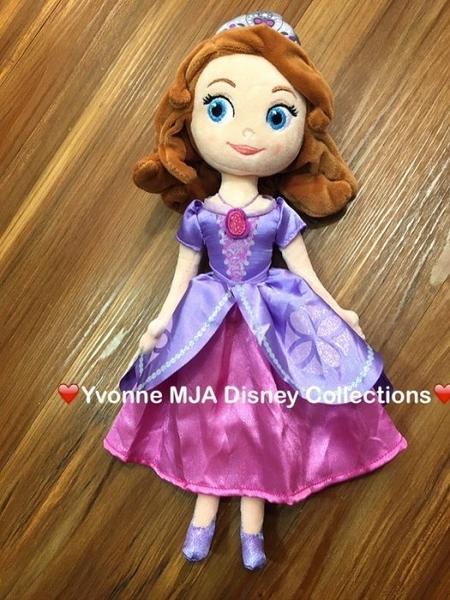 *Yvonne MJA* 美國 迪士尼 Disney 樂園限定正品新款 Sofia 蘇菲亞 小公主 精緻娃娃