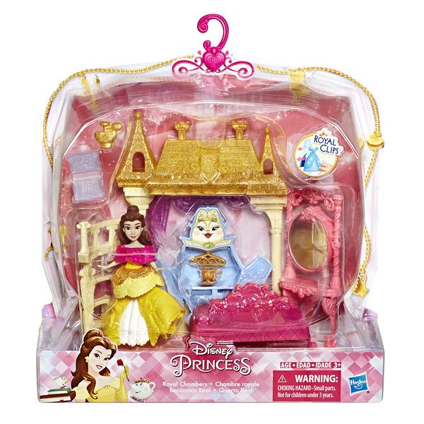 孩之寶 迪士尼公主系列 迷你公主小型扮家家酒 白雪公主 美女與野獸貝兒 TOYeGO 玩具e哥