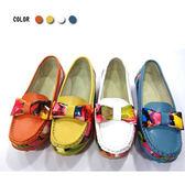 ★KEITH-WILL★(預購)繽紛多彩大蝴蝶造型真皮鞋
