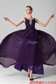 (45 Design) 訂做款式7天到貨歐美顯瘦性感抹胸晚禮服優雅雪紡長裙晚裝拼接禮服裙S25