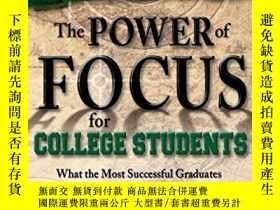 二手書博民逛書店The罕見Power Of Focus For College StudentsY256260 Les Hew